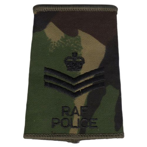 RAF Rank Slides, CS95, (Flt/Lt), Police