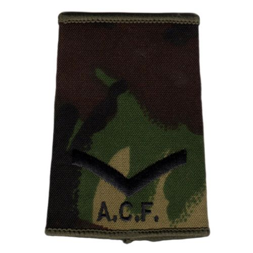 ACF Rank Slides, CS95, (L/Cpl)
