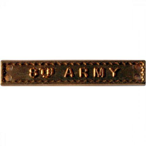 8th Army, Clasp