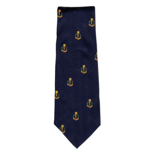 RAMC Crested Tie