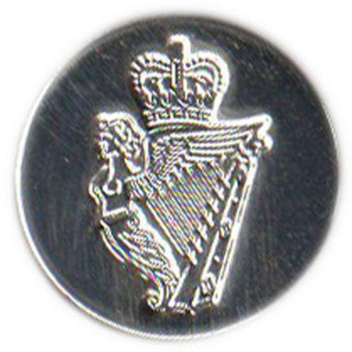 Royal Irish Button, Silver (26L)