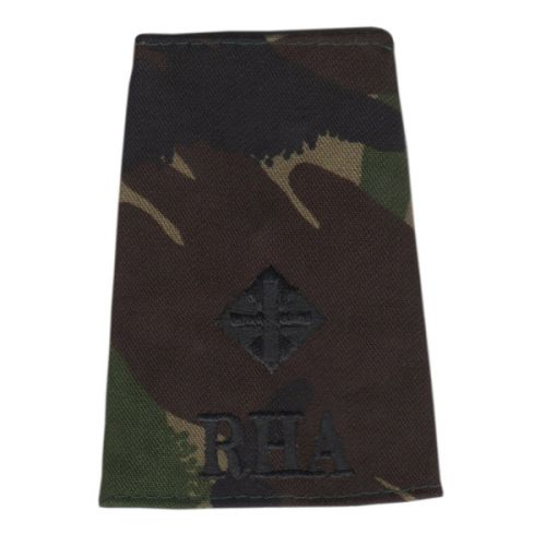 RHA Rank Slides, CS95, (2/Lt)