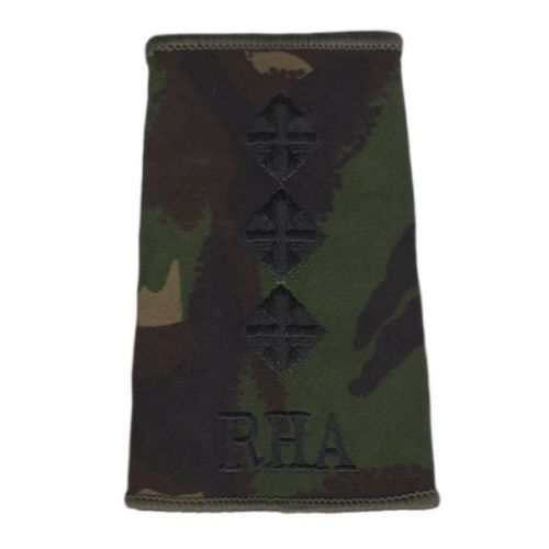 RHA Rank Slides, CS95, (Capt)