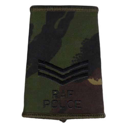 RAF Rank Slides, CS95, (Sgt), Police