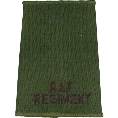 RAF Regiment Rank Slides, Olive Green, (Unranked)