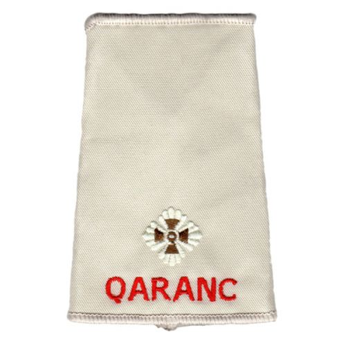 QARANC Rank Slides, Cream, (2/Lt)