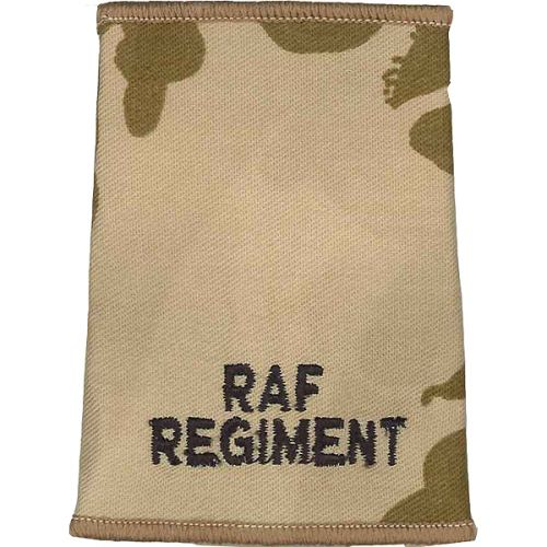 RAF Regiment Rank Slides, Desert, (Unranked)