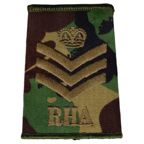 RHA Rank Slides, CS95, (S/Sgt)
