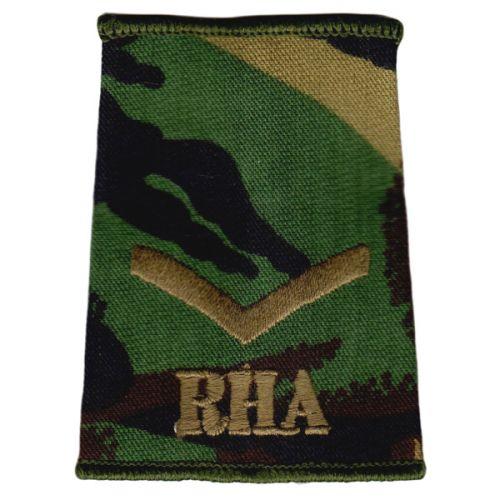 RHA Rank Slides, CS95, (L/Cpl)