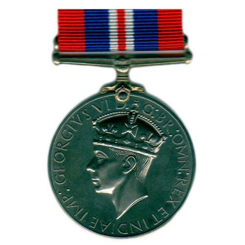 1939 to 1945 War, Medal