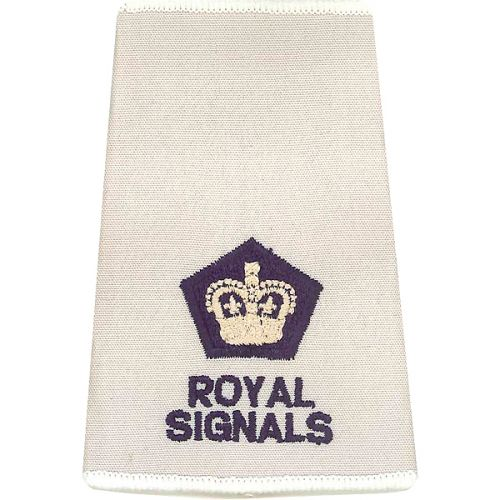 R SIGS Rank Slides, Cream, (Maj)