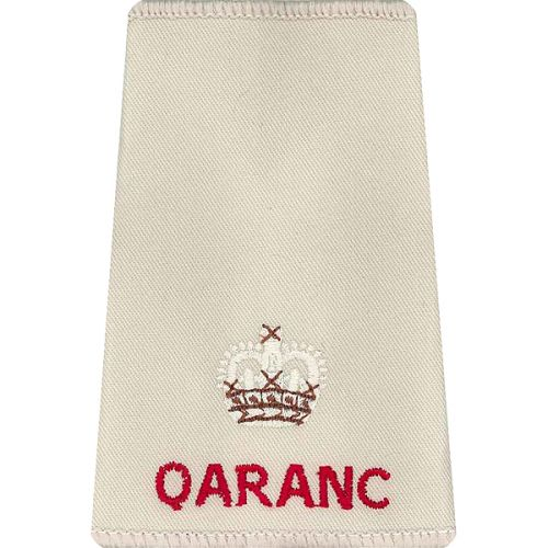 QARANC Rank Slides, Cream, (Maj)