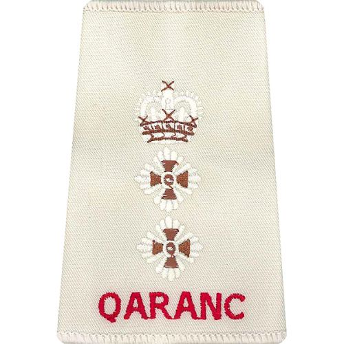 QARANC Rank Slides, Cream, (Hon/Col)