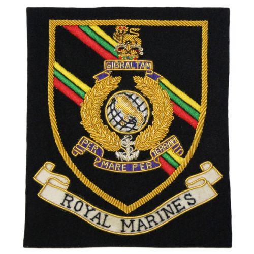 RM (Shield) Wire Blazer Badge