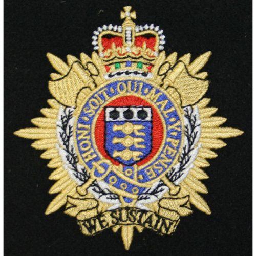 RLC Silk Blazer Badge