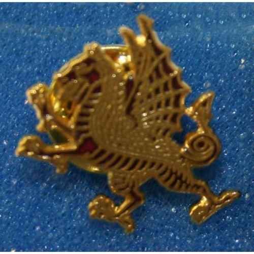 RWF Red Dragon Lapel Badge
