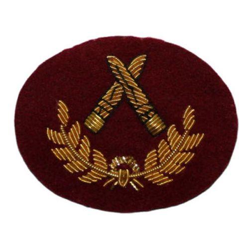 Grade 3 Infantryman (Gold on PARA Maroon)