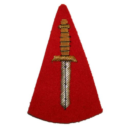 RM CDO Dagger No1 (On Red)