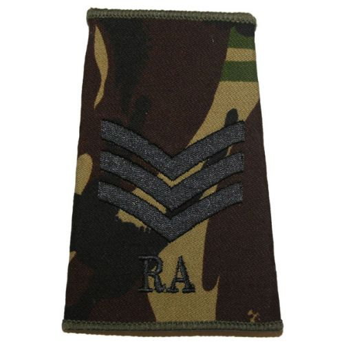 RA Rank Slides, CS95, (Sgt)