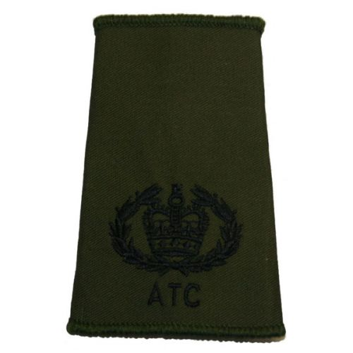 ATC Rank Slides, Olive Green, (RQMS)