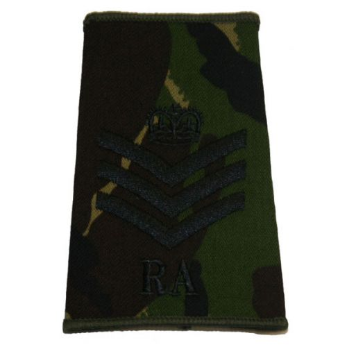 RA Rank Slides, CS95, (S/Sgt)