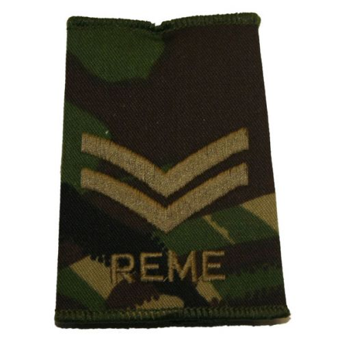 REME Rank Slides, CS95, (Cpl)
