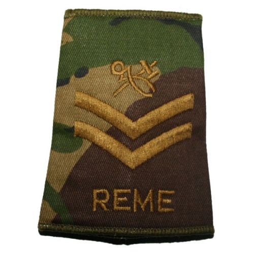 REME Rank Slides, CS95, (Cpl), Hammer & Tongs