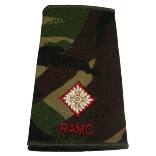 RAMC Rank Slides, CS95, (2/Lt)