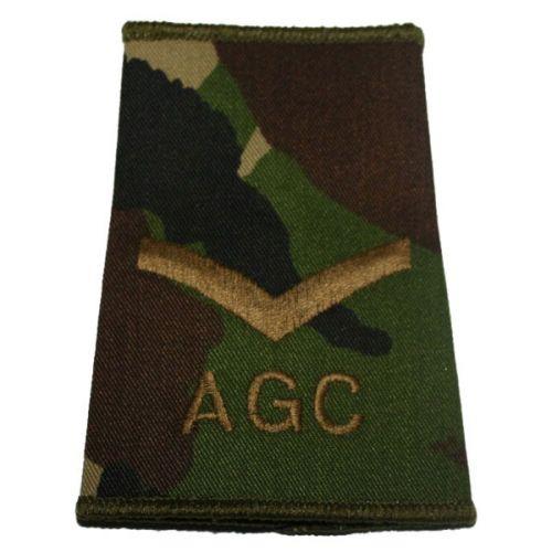 AGC Rank Slides, CS95, (L/Cpl)