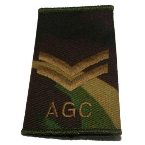 AGC Rank Slides, CS95, (Cpl)