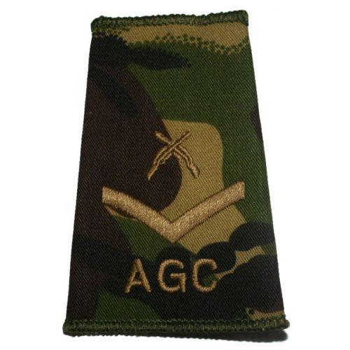 AGC Rank Slides, CS95, (L/Cpl), X Rifles