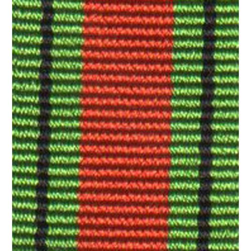 1939 to 1945 Defence Medal, Medal Ribbon (Miniature)