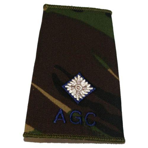 AGC Rank Slides, CS95, (2/Lt)