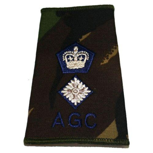 AGC Rank Slides, CS95, (Lt/Col)