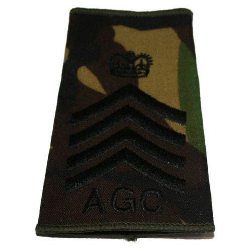 AGC Rank Slides, CS95, (D/Maj)