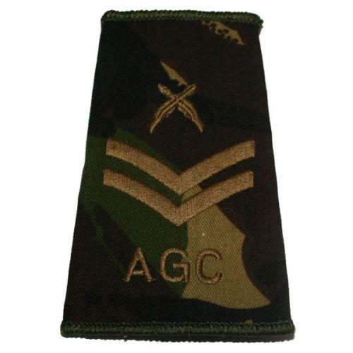 AGC Rank Slides, CS95, (Cpl), X Rifles