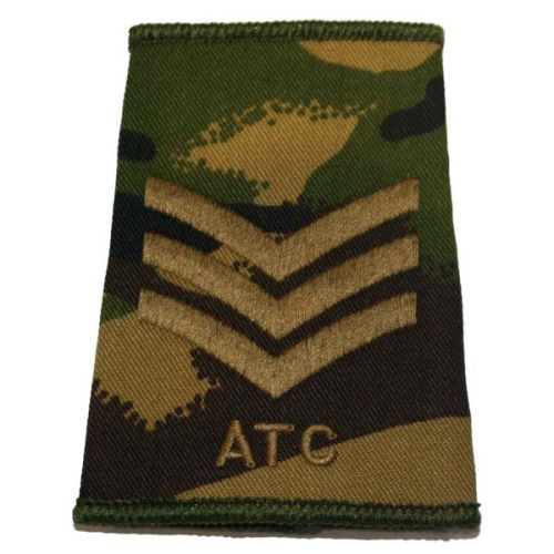 ATC Rank Slides, CS95, (Sgt)