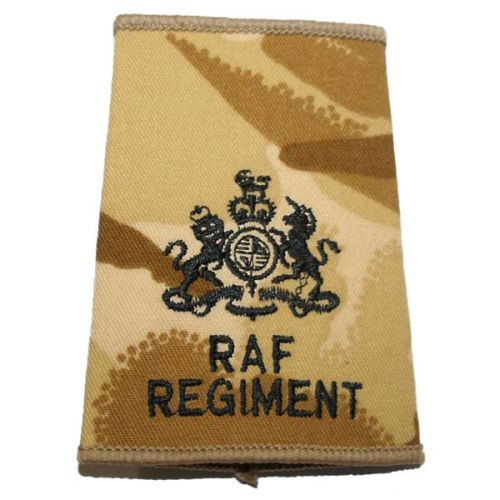 RAF Regiment Rank Slides, Desert, (WO)