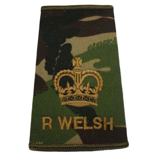 R WELSH Rank Slides, CS95, (WO2)
