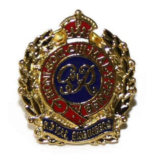 RE (GV1R) Lapel Badge