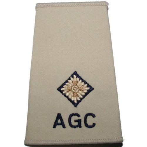 AGC Rank Slides, Cream, (2/Lt)