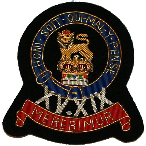 15th19th-Hussars-Wire-Blazer-Badge