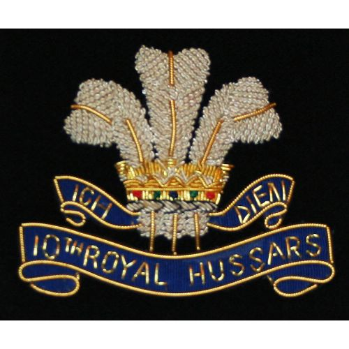10th-Royal-Hussars-Wire-Blazer-Badge