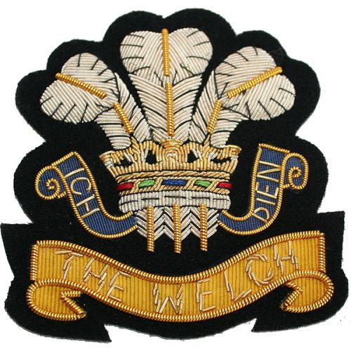 The-Welch-Regiment-Wire-Blazer-Badge