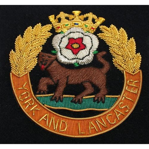 Yorks-&-Lancs-Regiment-Wire-Blazer-Badge