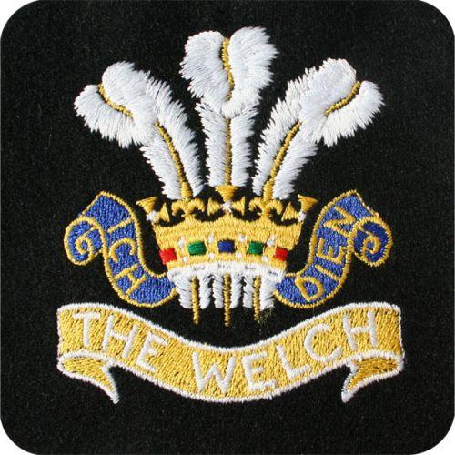 The-Welch-Regiment-Silk-Blazer-Badge