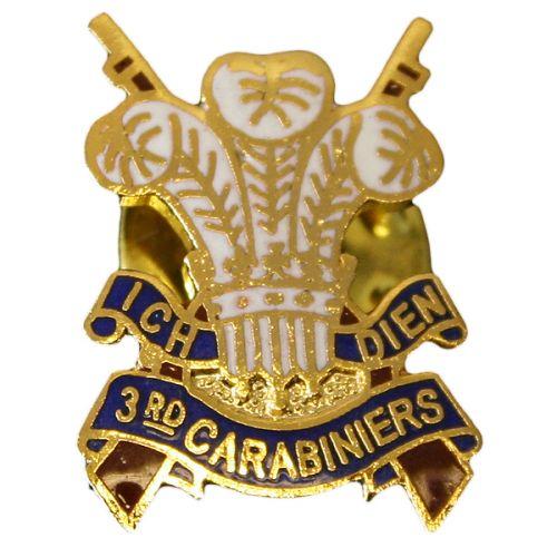 3rd Carabiniers Lapel Badge