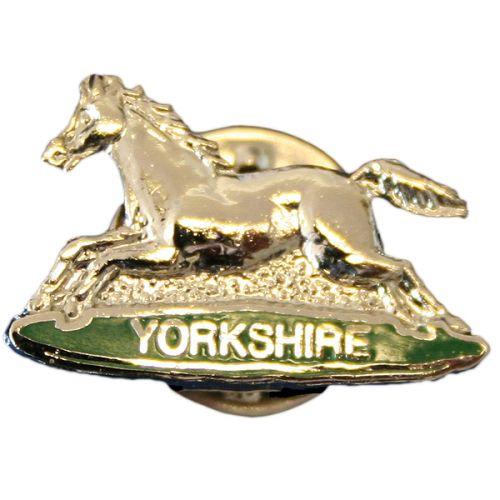 POW Yorkshire Lapel Badge