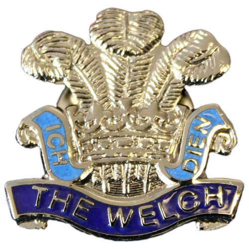 The Welch Regiment Lapel Badge