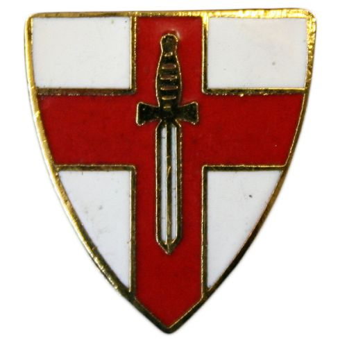 2nd Army Lapel Badge